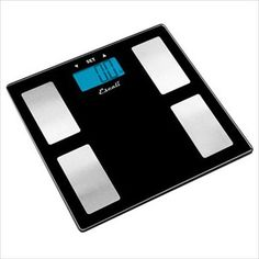 Escali Glass Body Fat - Water - Muscle Mass Scale - - 180 Kg - Health Weight Scale, Body Weight, Weight Loss, Losing Weight, Body Fat Measurement, Ayurvedic Spa, Personal Scale, Body Scale, Home Spa Treatments