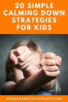 It can be really tricky when your child is struggling to manage their big emotions, so try these simple calming down strategies for kids! #hannahandthetwiglets #calmingdown #angerinkids #kidsemotions #emotionalregulation #childbehaviour Gentle Parenting, Parenting Hacks, Kids Behavior, Child Behaviour, Emotional Child, Emotional Regulation, Attachment Parenting, Funny Stories, Growth Mindset