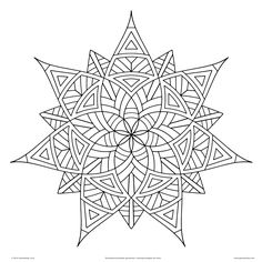 Geometrip.com features high quality geometric coloring designs that you can download and print on any printer. The coloring designs are available in PDF and JPG formats. Best of all, they're free!