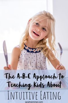 It's important to focus on building your child's healthy long-term relationship with food. Because Intuitive Eating is a complex model, I've broken it down into three simple steps to get your started. Healthy Meals For Kids, Kids Meals, Healthy Recipes, Nutrition Tips, Health And Nutrition, Intuitive Eating, Trends, Kid Friendly Meals, Nutritious Meals