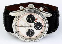 Rolex Yacth Master Cosmograph  Rarissimo prototipo di un cronografo Yacht Master (Ref. 6239/6242) il cui quadrante fu fabbricato nel 1967 e l'orologio nel 1969