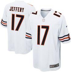 Nike Alshon Jeffery Chicago Bears White Game Jersey