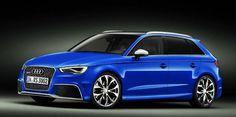 Audi A3 Sportback 2015 Blue
