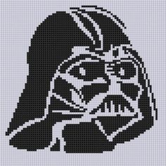 Darth Vader Stitch ... By Bracefacepatterns | Embroidery Pattern