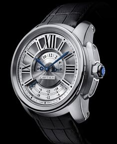 Cartier Calibre de Cartier Multiple Time Zone Watch www.ChronoSales.com for all your luxury watch needs, sign up for our free newsletter, the new way to buy and sell luxury watches on the internet. #ChronoSales
