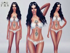 My Goddess Swimsuit – The Sims 4 Catalog