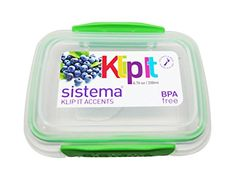 Sistema Klip It Accents Onces / 200 ML Reusable Stackabke Food Container, Assorted Colors, Lunch Boxes, Food Containers, Colors, Colour, Color, Hue