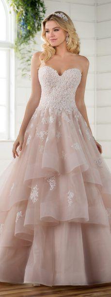Wedding Dress by Essense of Australia Spring 2017 Bridal Collection