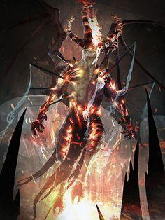 slightly more evil horned person by IgorKieryluk.deviantart.com on @deviantART