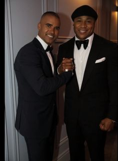 SHEMAR MOORE LL COOL J SEPT 24, 2013 EMMY AWARDS
