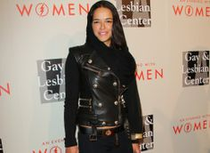 """Michelle Rodriguez Opens Up About Coming Out As Bisexual- article- The actress  Michelle Rodriguez came out as bisexual last October during an interview with Entertainment Weekly.  """"I've gone both ways. I do as I please. I am too f**king curious to sit here and not try when I can,"""" she said at the time. """"Men are intriguing. So are chicks."""""""