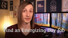 How to Find a Day Job That Doesn't Drain Your Energy http://seanwes.tv/164