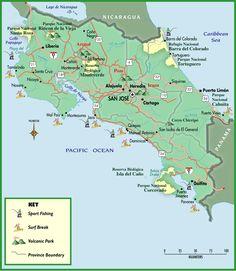Mapa De Costa Rica Playas.Las 37 Mejores Imagenes De Mapas Cr En 2019 Mapas Mapa