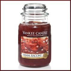 I'm sure he'd love it if his room smelled like bacon... Yankee Candle - Mmm, Bacon!