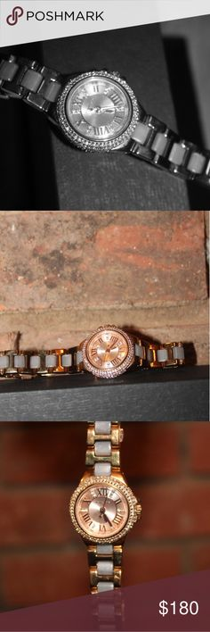 Michael Kors beautiful Petite Rose-Gold tone Watch PETITE Camille Michael Kors Rose Gold Watch  -Push Clasp - Water Resistant Up To 5 ATM - Imported Style #: MK 4292 Michael Kors Accessories Watches