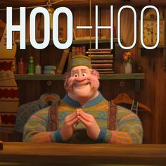 "Frozen - Hoo-Hoo! Wandering Oaken's Trading Post (""Ooh, and Sauna!"") is having a big summer blowout."