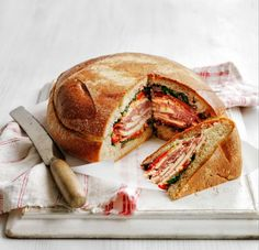 Pressed Italian Sandwich - WomansDay.com