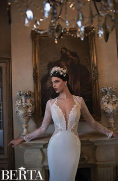 Berta Bridal #15-05        |        For tips on choosing your gown, visit us at http://www.dfwweddingworks.com/a-perfect-fit
