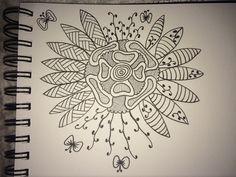 Halfway doodle