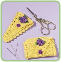 ~cases for scissors and sewing needles~