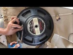 How fix Speaker Bass when Voice Coil broken | How to Change Voice Coil o...