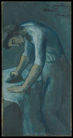 Woman Ironing Pablo Picasso (Spanish, Malaga 1881–1973 Mougins, France )