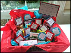 shine on...tales of a twenty-something: Falling in Love... // Bridal Shower Basket Fun