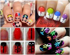 Cute, simple nail art