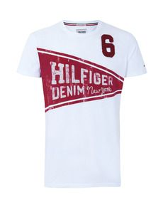 Hilfiger Denim, Tommy Hilfiger, Design Kaos, Moda Online, My Style, Jeans, Model, Summer, T Shirt
