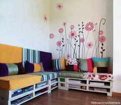 Tonnes of pallett furniture ideas! Love it!!