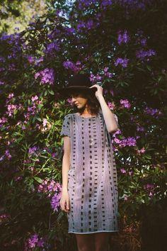purple shift dress #summerstyle #shiftdress