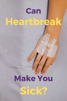 Can Heartbreak Make You Sick? Heartbreak Quotes, Heartbroken Quotes, Get Over Your Ex, Get Over It, Feeling Sick, How Are You Feeling, Rejected Quotes, Broken Heart Syndrome, Getting Over Heartbreak