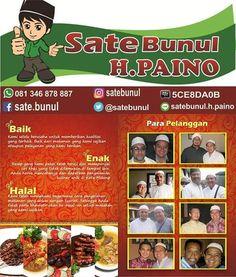 WEBSTA @ satebunul - Sate Bunul H. Paino,Halal, baik dan enak..😊😊 #malang #malangkuliner #kulinermalang