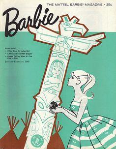 1960's Vintage Barbie Magazines - AnotherDesignBlog.