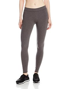 PACT Womens Everyday Charcoal Heather Leggings Grey Pants MD >>> Read more reviews of the product by visiting the link on the image.(This is an Amazon affiliate link)