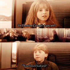 Ron and Hermione - harry-potter Photo