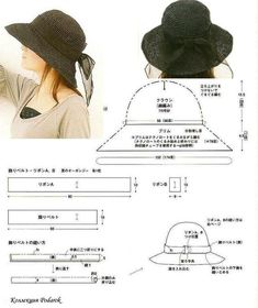 Awesome Picture of Beanie Hat Pattern Sewing Beanie Hat Pattern Sewing Pin Wong Foong On Hats Hats Sewing Hat Patterns To Sew Hat Patterns To Sew, Sewing Patterns, Vogue Patterns, Diy Clothing, Clothing Patterns, Hat Tutorial, Diy Couture, Diy Hat, Fancy Hats