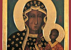 Image result for Black Madonna Our Lady of Czestochowa