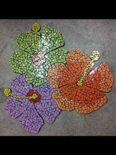 Mosaic lilies