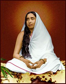 """""""Through spiritual disciplines the ties of past karma are cut asunder. But the realization of God cannot be achieved without ecstatic love for him.""""    —Sri Sarada Devi, wife of Sri Ramakrishna"""