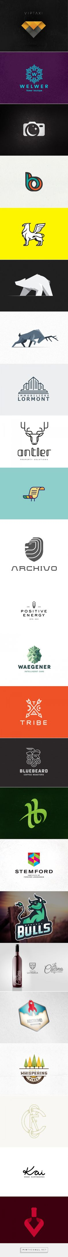 25 Great Logo Designs | From up North... - a grouped images picture - Pin Them All