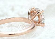 21 Delightful Rose Gold Engagement Rings