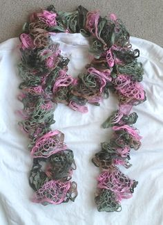 Beautiful Spring Bouquet Ruffle Scarf by crazyforcolors2 on Etsy, $16.00