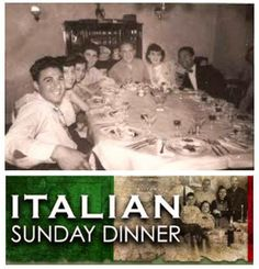 #Italian Sunday dinner! IF YOU ARE BLESSED <3