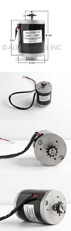 Parts and Accessories 11332: 100W Watt 24 V 12 Volt Electric Motor Zy6812 F Scooter Bike Go-Kart Or Minibike -> BUY IT NOW ONLY: $34.5 on eBay!