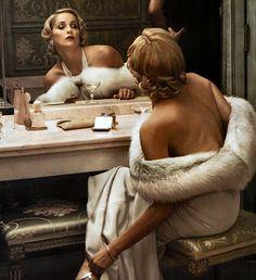 Sharon Stone by Annie Leibovitz.