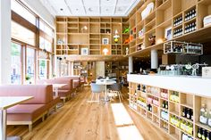love the shelves for drinks.  Flinders Cafe by Como Park Amsterdam 03 Flinders Café by Como Park, Amsterdam
