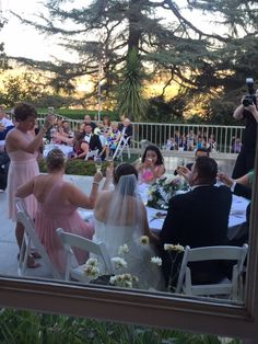 Raise your glass to the new Mr. and Mrs. #kellogghouse #reception #garden #love #wedding #toasts #venue #weddingvenue