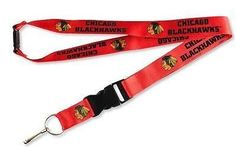 Aminco NHL Chicago Blackhawks Team Lanyard