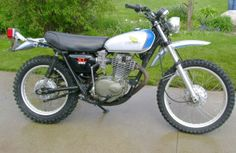 1974 Honda XL350 Rare and collectible but not as much as the SL350